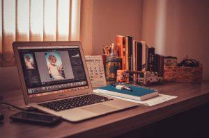 Disadvantages Working Freelance Home organized desk of a freelancer
